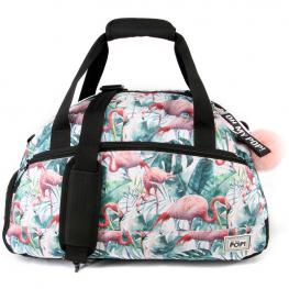 Bolsa Deporte Oh My Pop Tropical Flamingo 51Cm