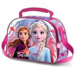 Bolsa Portameriendas 3D 3D Frozen 2 Disney