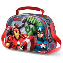 Bolsa Portameriendas 3D Vengadores Avengers Marvel