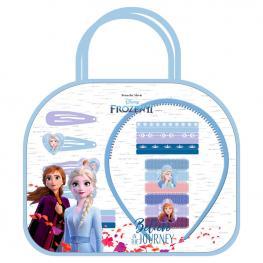 Bolso Accesorios Pelo Frozen 2 Disney 6Pzs