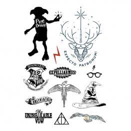 Pack 35 Tatuajes Temporales Harry Potter