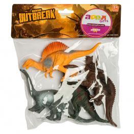 Set Dinosaurio Surtido 4Pzs