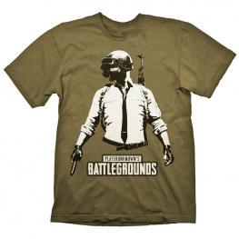 Camiseta Stencil Guy Playerunknowns Battlegrounds Pubg