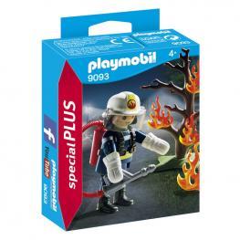 Bombero Con Arbol En Llamas Playmobil Special Plus