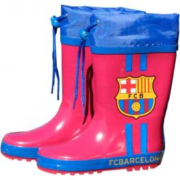 Botas Agua Granate Cierre Ajustable Fc Barcelona