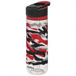 Botella Quick Sip Black Cammo Quokka 830Ml