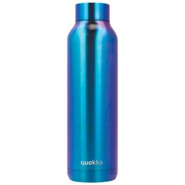 Botella Solid Blue Chrome Quokka 630Ml