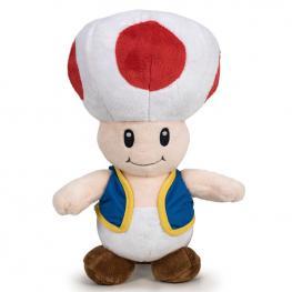 Peluche Toad Mario Bros Soft 30Cm