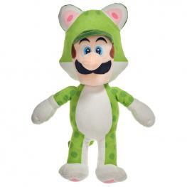 Peluche Luigi Mario Bros Soft 35Cm