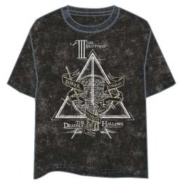 Camiseta Deathly Hallows Harry Potter Adulto