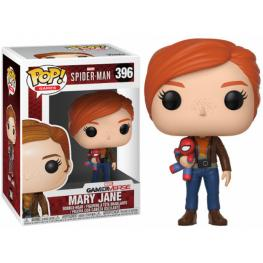 Figura Pop Marvel Spiderman Mary Jane With Plush