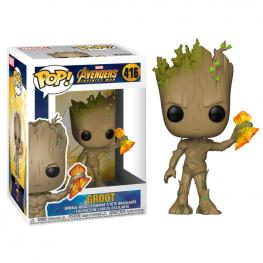Figura Pop Marvel Infinity War Groot Stormbreaker