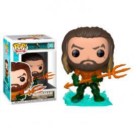 Figura Pop Dc Comics Aquaman Arthur Curry In Hero Suit