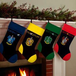 Calcetin Navidad Slytherin Harry Potter