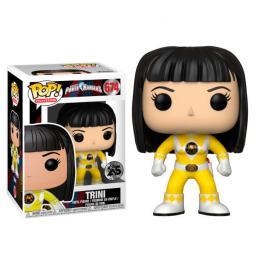Figura Pop Power Rangers Yellow Ranger Trini No Helmet