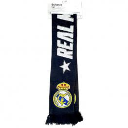 Bufanda Fan Real Madrid ¡hala Madrid! Doble