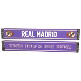 Bufanda Fan Real Madrid Nuestro Futuro Es Hacer Historia Doble