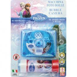 Camara Fotos Burbujas + Pompero Frozen Disney