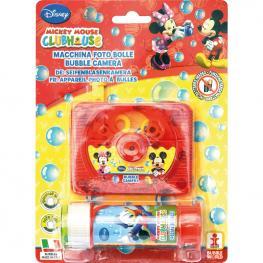 Camara Fotos Burbujas + Pompero Mickey Disney