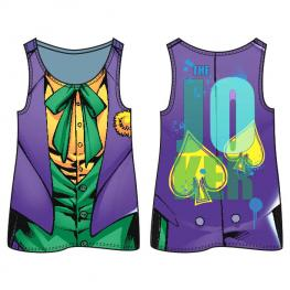 Camiseta Agujeros Joker Dc Comics Adulto