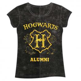 Camiseta Hogwarts Harry Potter Adulto Mujer
