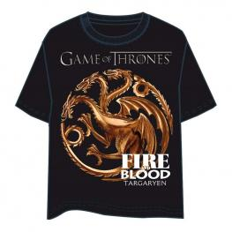 Camiseta Juego de Tronos Targaryen Adulto
