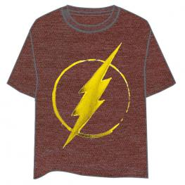 Camiseta Logo Flash Dc Comics Adulto