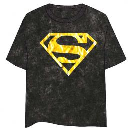 Camiseta Logo Superman Gold Dc Comics Adulto