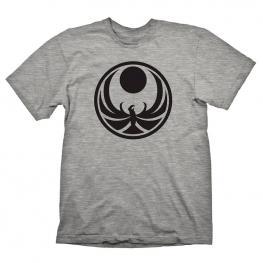 Camiseta Nightingale Skyrim Gris
