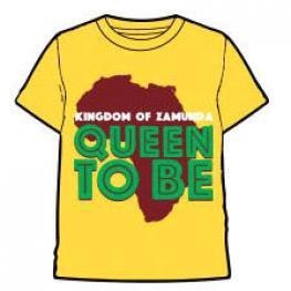 Camiseta Queen To Be Kigdom Of Zamunda Infantil