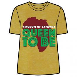 Camiseta Queen To Be Kingdom Of Zamunda Adulto Mujer