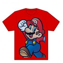 Camiseta Roja Saltando Mario Bros. Xl