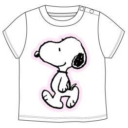 Camiseta Snoopy Gris Bebe