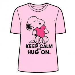 Camiseta Snoopy Pink Adulto Mujer
