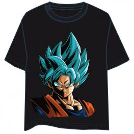 Camiseta Son Goku Super Saiyan Blue Dragon Ball Infantil