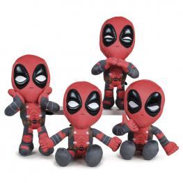Peluche Deadpool Marvel 32Cm Surtido