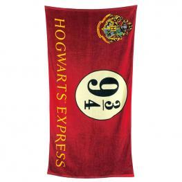 Toalla Hogwarts Express 9 3/4 Harry Potter Algodon