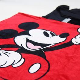 Poncho Toalla Mickey Disney Algodon