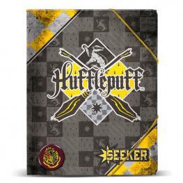 Carpeta A4 Harry Potter Quidditch Hufflepuff Gomas