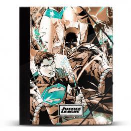 Carpeta A4 Liga de la Justicia Dc Comics Gomas