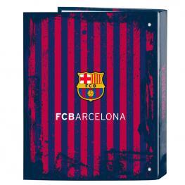 Carpeta Fc Barcelona A4 Anillas Lomo Ancho