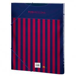 Carpeta  Fc Barcelona A4 Clasificadora Gomas