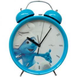 Reloj Despertador Grande los Pitufos