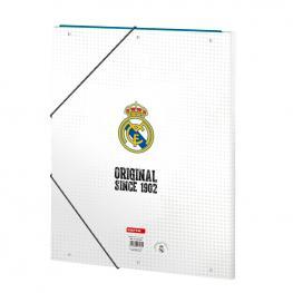 Carpeta Real Madrid A4 Gomas Solapas