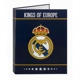 Carpeta Real Madrid Blue A4 Anillas