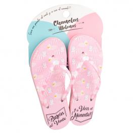 Chanclas Unicornios