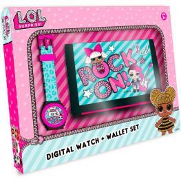 Set Regalo Lol Surprise Reloj + Billetera
