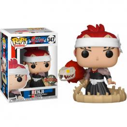 Figura Pop Renji With Bankai Sword Bleach Exclusive