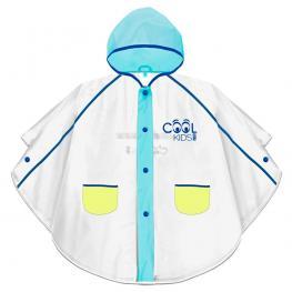 Chubasquero Eva Semi Transparente Cool Kids Azul