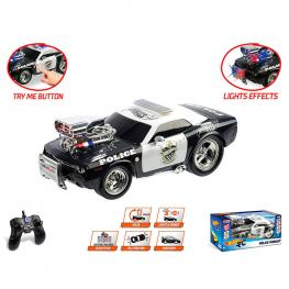Coche Police Pursuit Hot Wheels Radio Control
